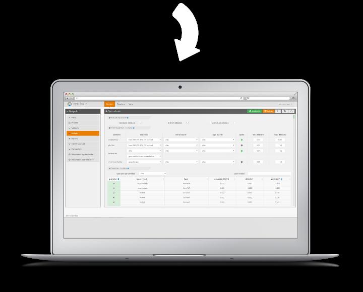 Opti-Build software 2
